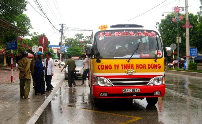 Xe buýt ở Thanh Hóa hoạt động trở lại, không được chở quá 50% số ghế