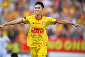 Cựu trung vệ Nam Định Lâm Anh Quang úp mở việc gia nhập CLB HAGL
