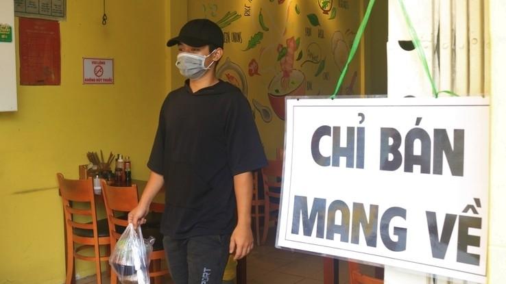 Những quận, huyện nào ở Hà Nội được bán hàng ăn uống mang về từ 12h ngày 16/9