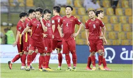 Tuyển Việt Nam bị trừ nhiều điểm trên bảng xếp hạng FIFA