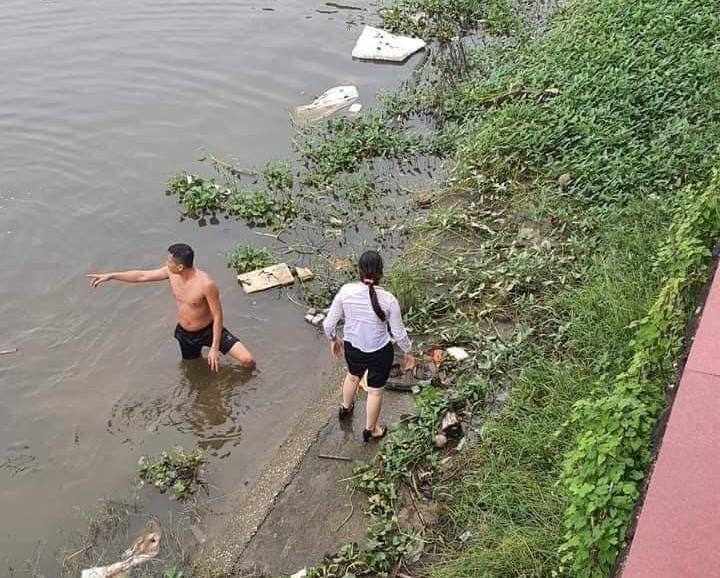 Chân dung thượng úy quân đội dũng cảm cứu người đuối nước ở Hà Nam