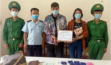 Điện Biên: Bắt giữ đôi nam nữ lên biên giới mua ma túy bán kiếm lời