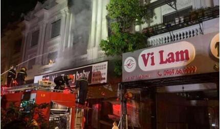Hà Nội: Cháy kho chứa vải ở Ninh Hiệp, nhiều tài sản bị thiêu rụi