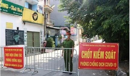 Sáng 19/9, Hà Nội ghi nhận 2 ca mắc Covid-19 mới tại Long Biên và Hoàng Mai