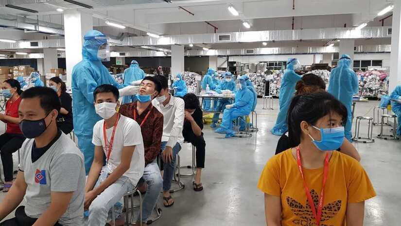 Đà Nẵng ghi nhận thêm 3 ca dương tính mới, có 1 ca tại KCN Hòa Khánh
