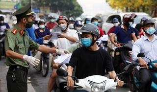 Hà Nội dừng kiểm soát giấy đi đường, bỏ phân vùng từ ngày 21/9