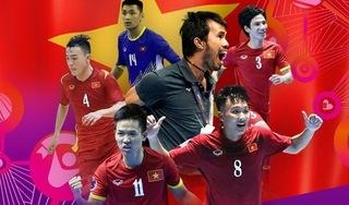 Tuyển Futsal Việt Nam thăng tiến trên BXH FIFA