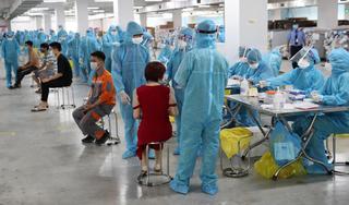 Hà Nam ghi nhận 12 ca dương tính SARS-CoV-2, có 7 ca tại KCN Châu Sơn