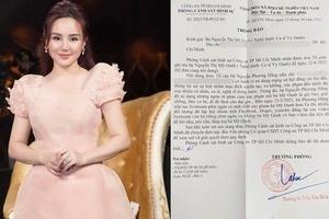 Vy Oanh tiếp tục nộp đơn tố cáo bà Nguyễn Phương Hằng lên Bộ Công an