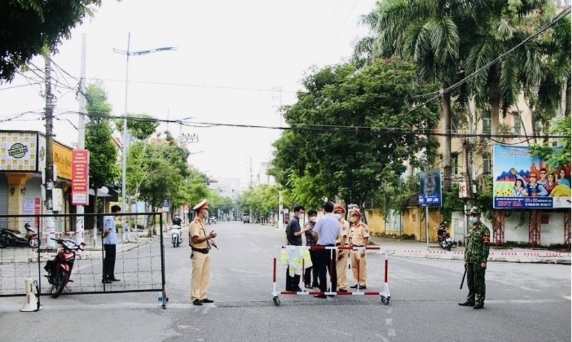 Giãn cách theo Chỉ thị 16 đối với 13 xã, phường của TP Phủ Lý từ ngày 24/9