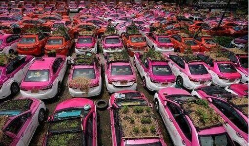 Hàng trăm xe taxi ở Thái Lan biến thành...