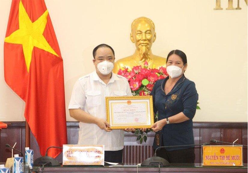 PSD GROUP trao tặng thuốc hỗ trợ nâng cao sức khỏe cho các tỉnh, thành phía Nam