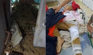 Sạt lở đất trong đêm ở Hà Tĩnh, hai cháu nhỏ trong cùng gia đình bị thương