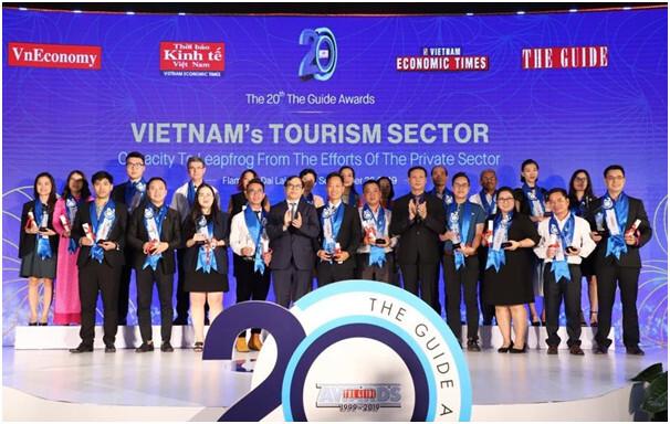 Giải thưởng The Guide Awards tôn vinh thương hiệu Vietnam Booking