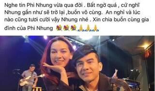 Nghệ sĩ Việt bàng hoàng, xót xa tiễn biệt cố ca sĩ Phi Nhung