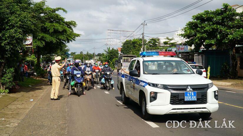 Đắk Lắk phát hiện 14 trường hợp dương tính SARS-CoV-2 trong đoàn người về quê