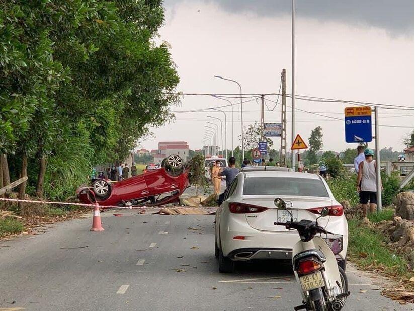 Vụ tai nạn kinh hoàng 6 người thương vong ở Bắc Ninh