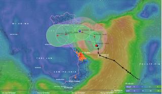 Tin thời tiết 8/10: Bão số 7 (LIONROCK.) di chuyển theo hướng Bắc, gió giật cấp 10