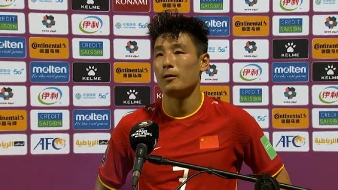 Tiền đạo Wu Lei phủ nhận ghi bàn ấn định chiến thắng cho tuyển Trung Quốc