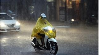 Tin thời tiết 13/10: Bắc Bộ và Trung Bộ mưa lớn tập trung vào chiều và tối.