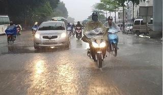 Bão số 8 gây mưa lớn ở miền Bắc và miền Trung