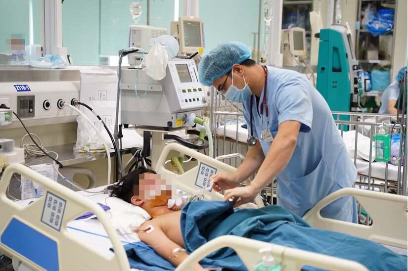 Nhiều trẻ nhập viện trong tình trạng nguy kịch do chấn thương sọ não