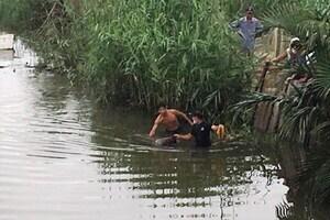 Phát hiện thi thể người đàn ông trôi trên sông Cổ Cò ở Quảng Nam