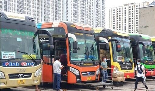 27 địa phương đồng ý mở lại các tuyến vận tải hành khách liên tỉnh