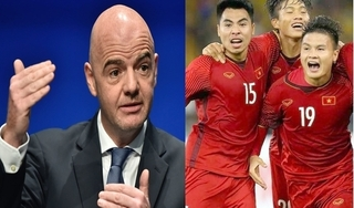 Chủ tịch FIFA mang tin vui tới tuyển Việt Nam và Đông Nam Á