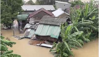 Mưa lũ chia cắt nhiều nơi ở Quảng Ngãi, 3 ngư dân mất tích