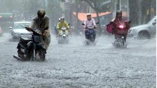 Tin thời tiết 27/10: Do ảnh hưởng của áp thấp nhiệt đới, miền Trung mưa to