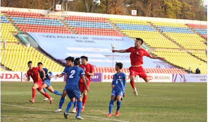 U23 Đài Bắc Trung Hoa được ngợi khen khi chơi ngang ngửa U23 Việt Nam