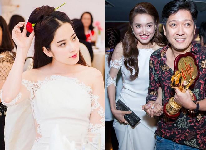 Mặc lại váy giống hệt Nhã Phương, Nam Em: Để xem Trường Giang sẽ làm gì tôi!