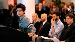 Bài phát biểu chấn động của con trai nạn nhân máy bay bị Iran bắn rơi