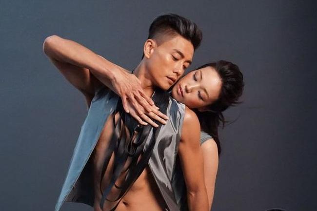 Huỳnh Tông Trạch và bạn gái mới, người mẫu Nhật Bản Jun