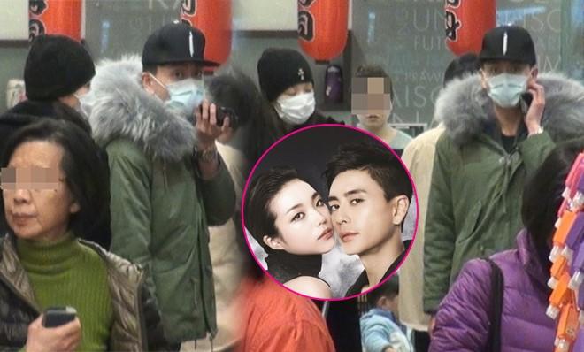 Huỳnh Tông Trạch và bạn gái mới bị bắt gặp khi đi mua sắm ở Hồng Kông