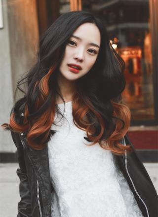 Màu tóc nhuộm ombre cho tóc đen xu hướng 'gây bão' 2016