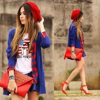 Kết hợp áo cardigan nữ siêu dễ, siêu đẹp