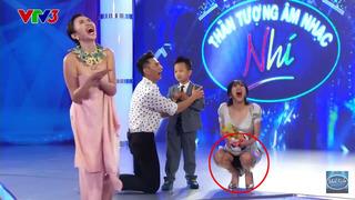 Những sự cố của sao Việt khiến khán giả phải nhắm mắt