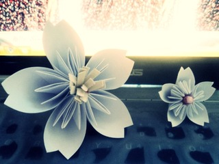 Cách gấp giấy Origami làm hoa cực xinh trang trí phòng khách