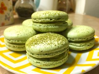 Cách làm macaron trà xanh thơm ngon, đẹp mắt miễn chê