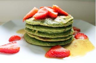 Cách làm món pancake trà xanh tuyệt ngon cho bữa sáng