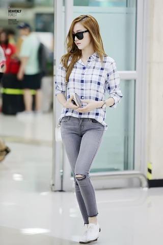 Bí quyết Mix đồ 'hút hồn' của Top 5 thời trang sân bay sao Hàn